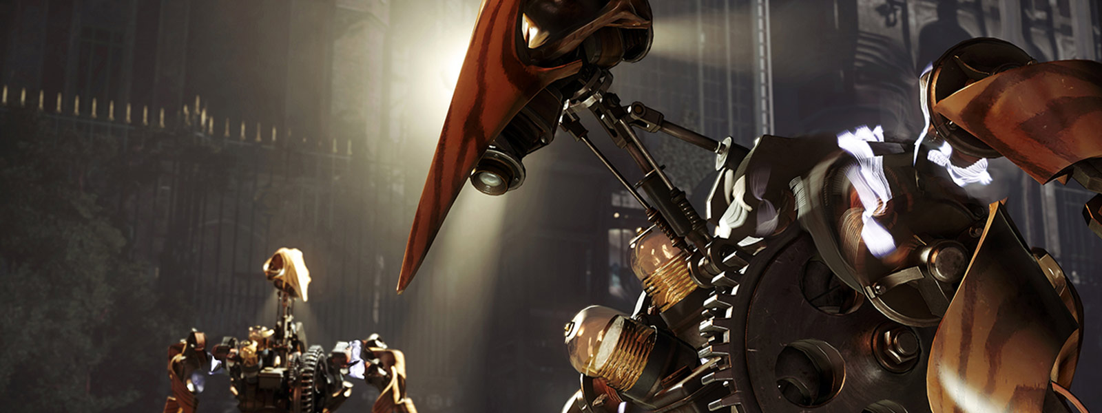 Robot de Dishonored 2 par Void engine