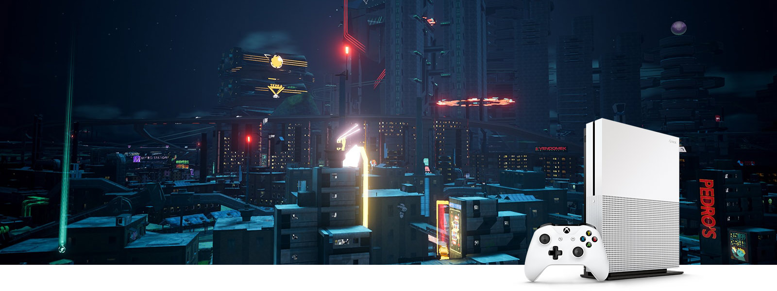 Capture d'écran de Crackdown 3 sans HDR