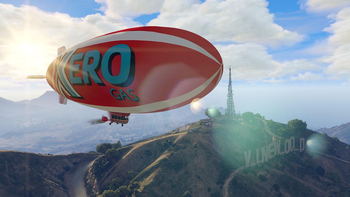 Xero-blimpen – stick iväg i luften