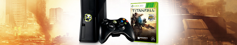 Limited Edition Xbox 360 Titanfall Bundle
