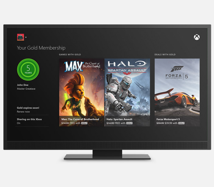 Apps on Xbox One