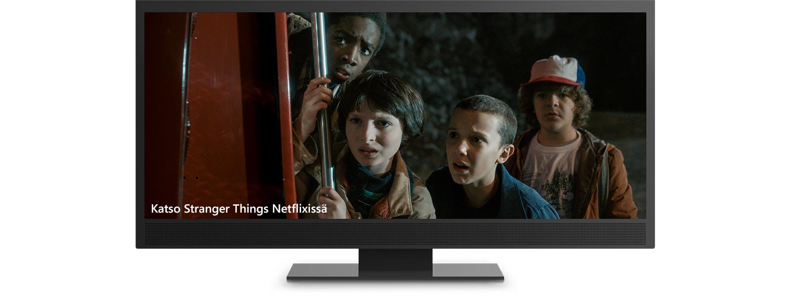 Stranger Things 4K-tarkkuudella