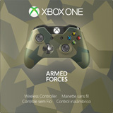 Xbox One Special Edition Armed Forces Wireless Controller box shot