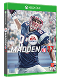 Madden 17 box shot
