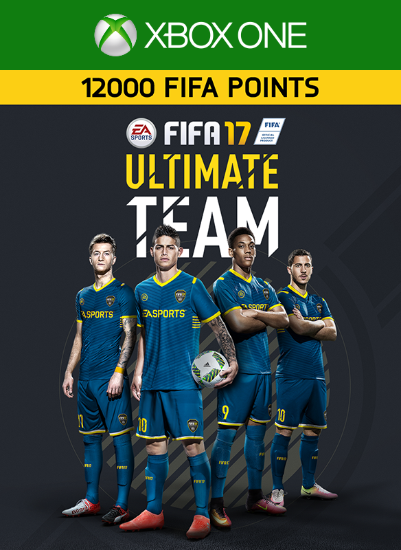 12000 FIFA 17 Points Pack