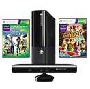 Paquete Xbox 360 4GB + Kinect