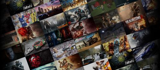 Xbox-tapeter og -baggrunde