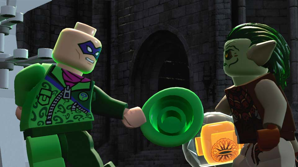The Riddler meets an orc on LEGO Dimensions for Xbox One
