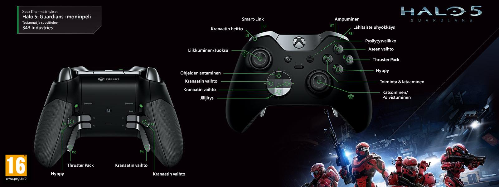 Halo 5 – Guardiansin moninpelin Elite-määritys