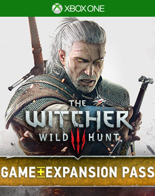 Witcher 3 and Expansion Pass box shot