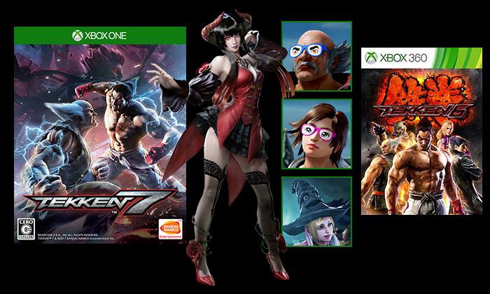 Xbox One 用『鉄拳7』を予約/購入して特典をゲットしよう