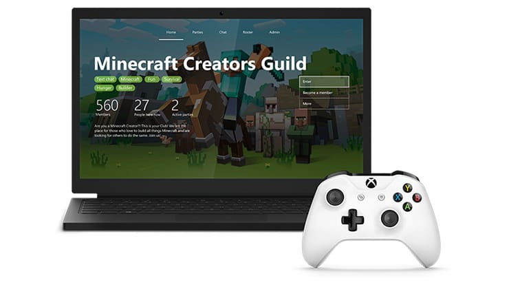 Stay connected with Xbox Clubs