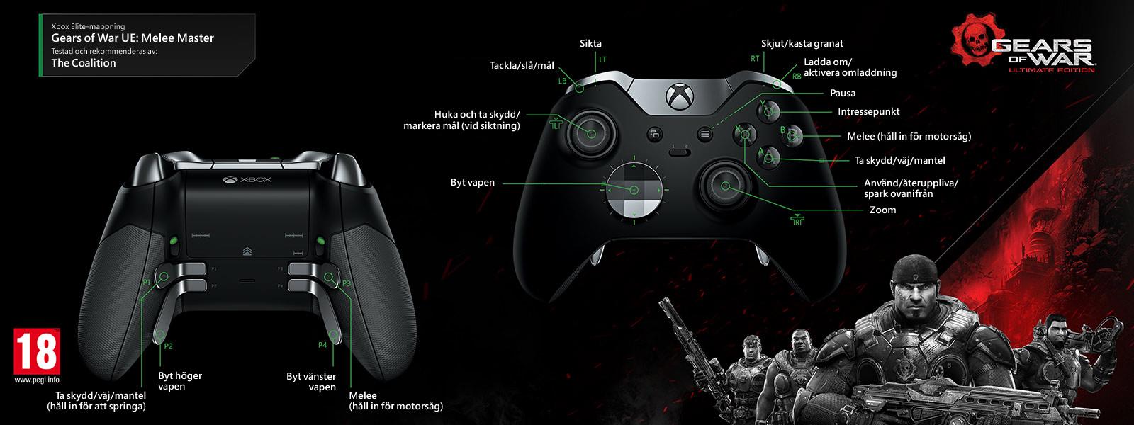 Gears of Wars Ultimate Edition – Elite-mappning för Melee Master Multiplayer