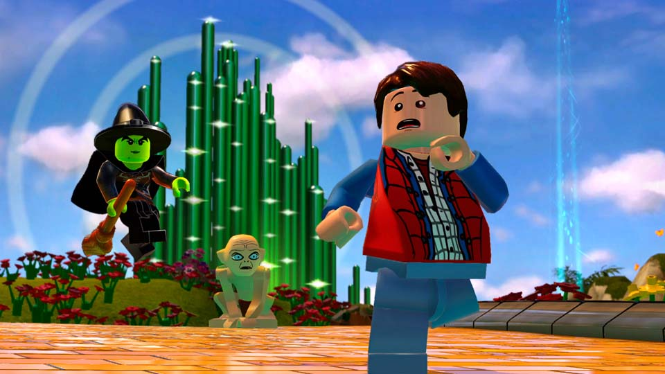 Play Emmet and Gollum on LEGO Dimensions for Xbox One