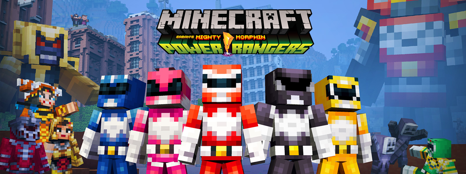 Paquete de aspecto Minecraft Power Rangers