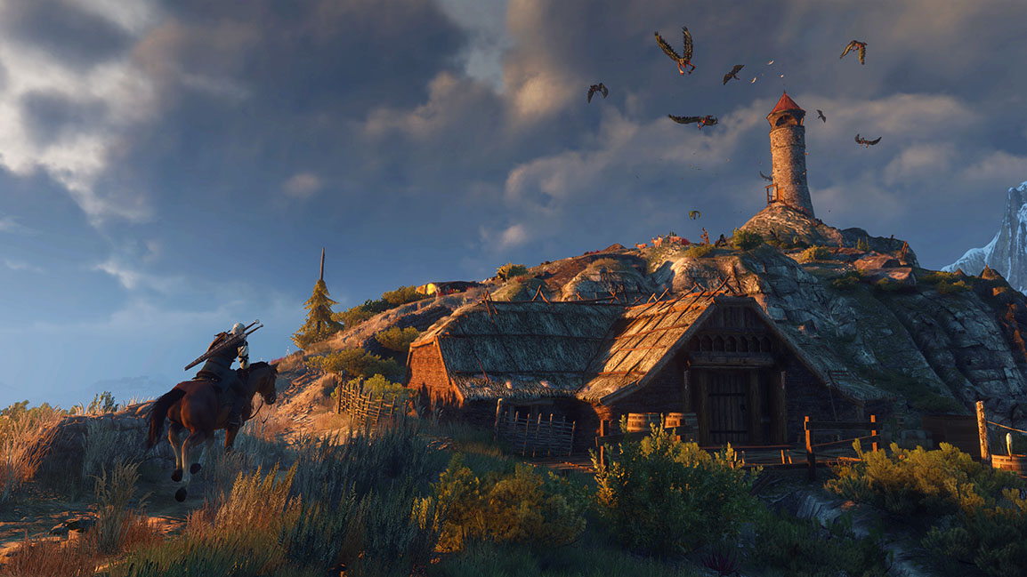 The Witcher 3: Wild Hunt lighthouse