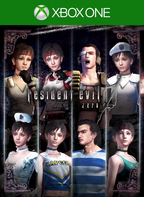 Resident Evil 0 Complete Costume Pack