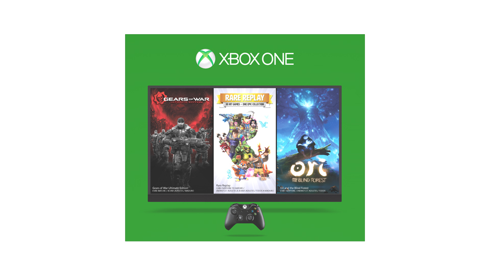 Xbox one holiday box back