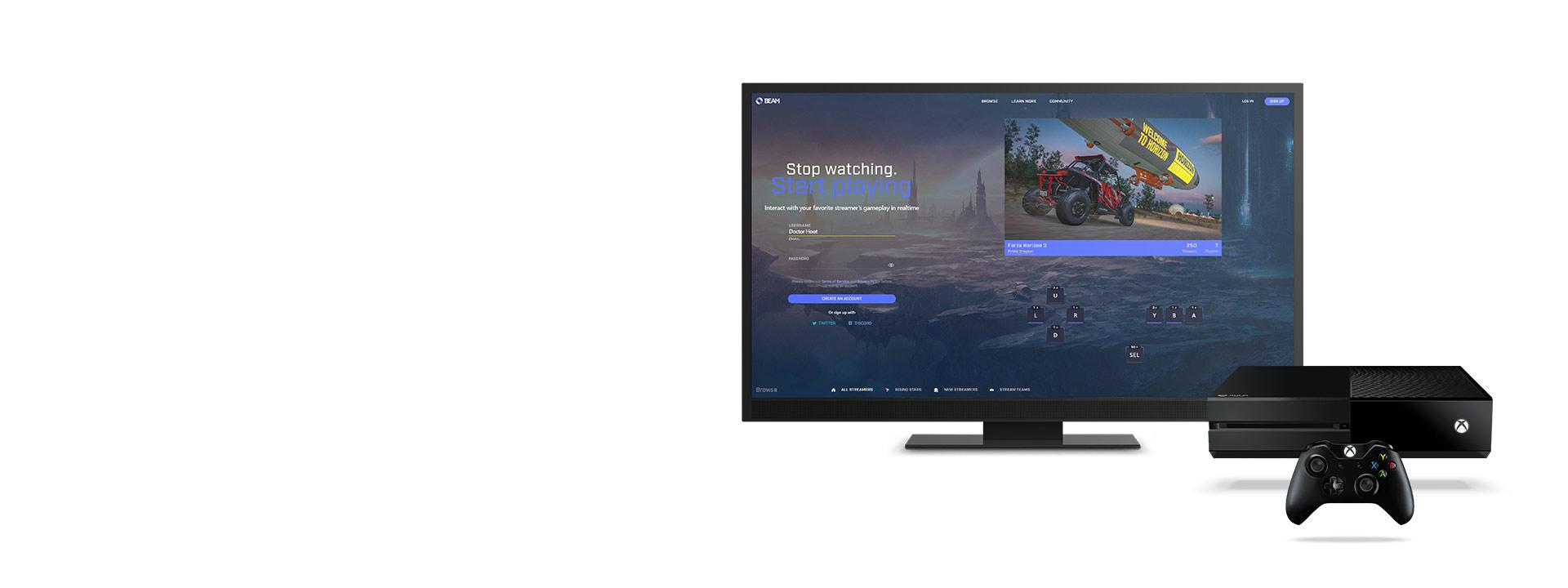 Beam no Xbox One