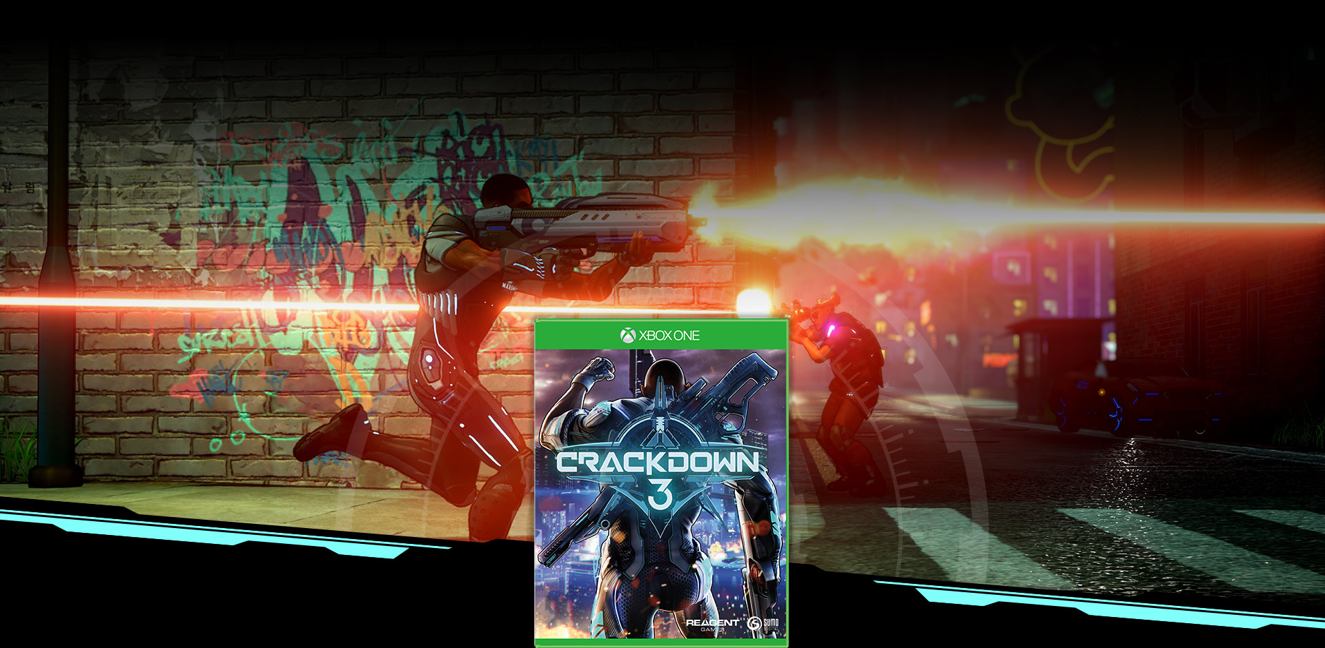 Crackdown 3 coverbilde