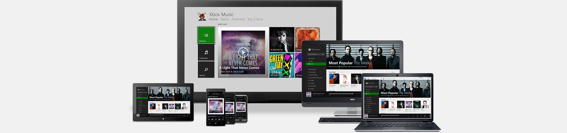 Stream millions of songs on Windows 8 and Windows RT