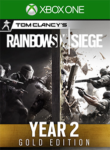 Tom Clancy's Rainbow Six Siege Year 2 Gold Edition boxshot