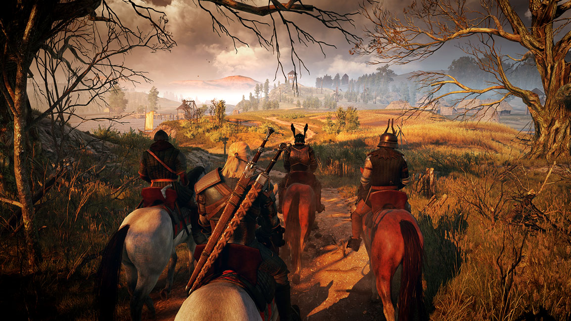 The Witcher 3: Wild Hunt travelling