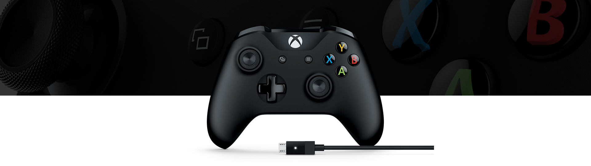 Control Xbox más cable para Windows