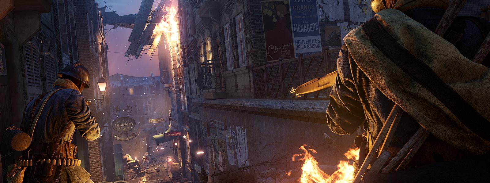 Battlefield 1 DLC - Prise de Tahure