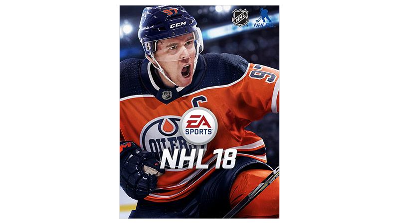 Imagem da caixa do NHL 18 Standard Edition