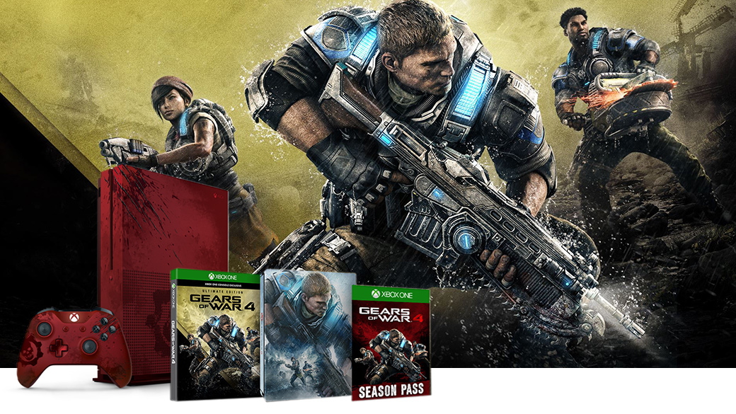 Xbox One S Gears of War 4 (2TB) bundle