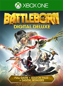 Battleborn Digital Deluxe boxshot