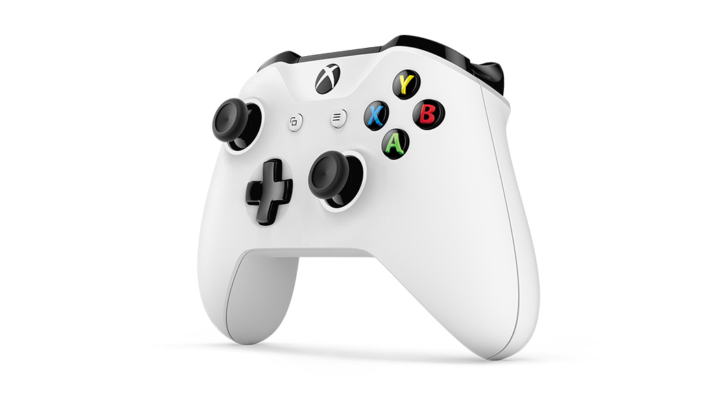 Facing left angle of controller