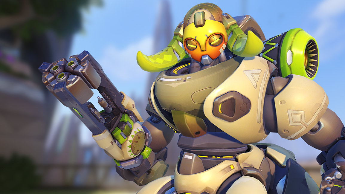 Orisa in Overwatch