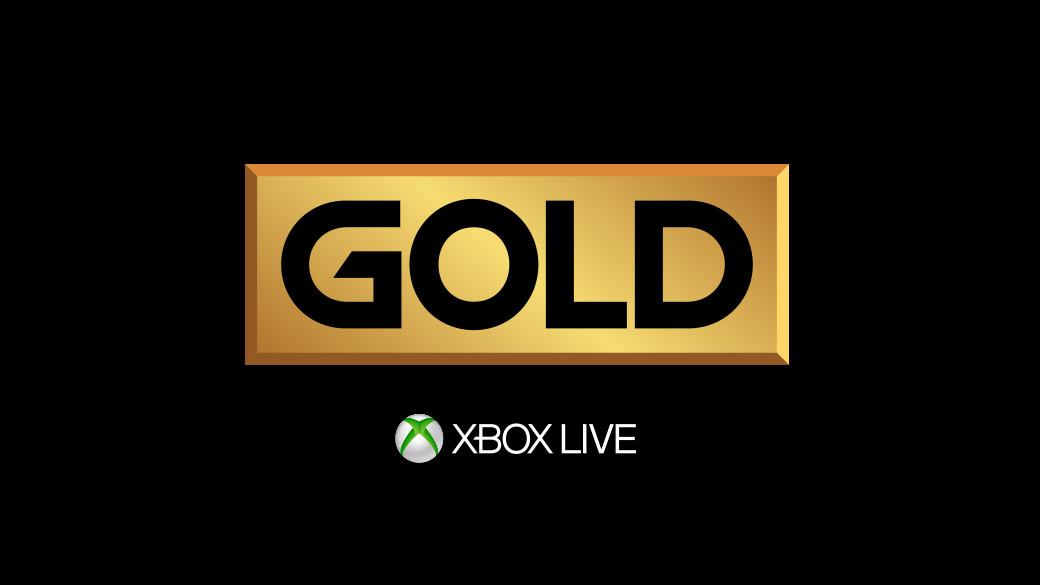 Логотип Золотого статуса XboxLiveGold