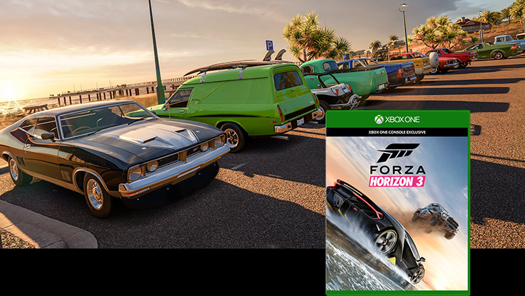 Imagen de la caja de Forza Horizon 3