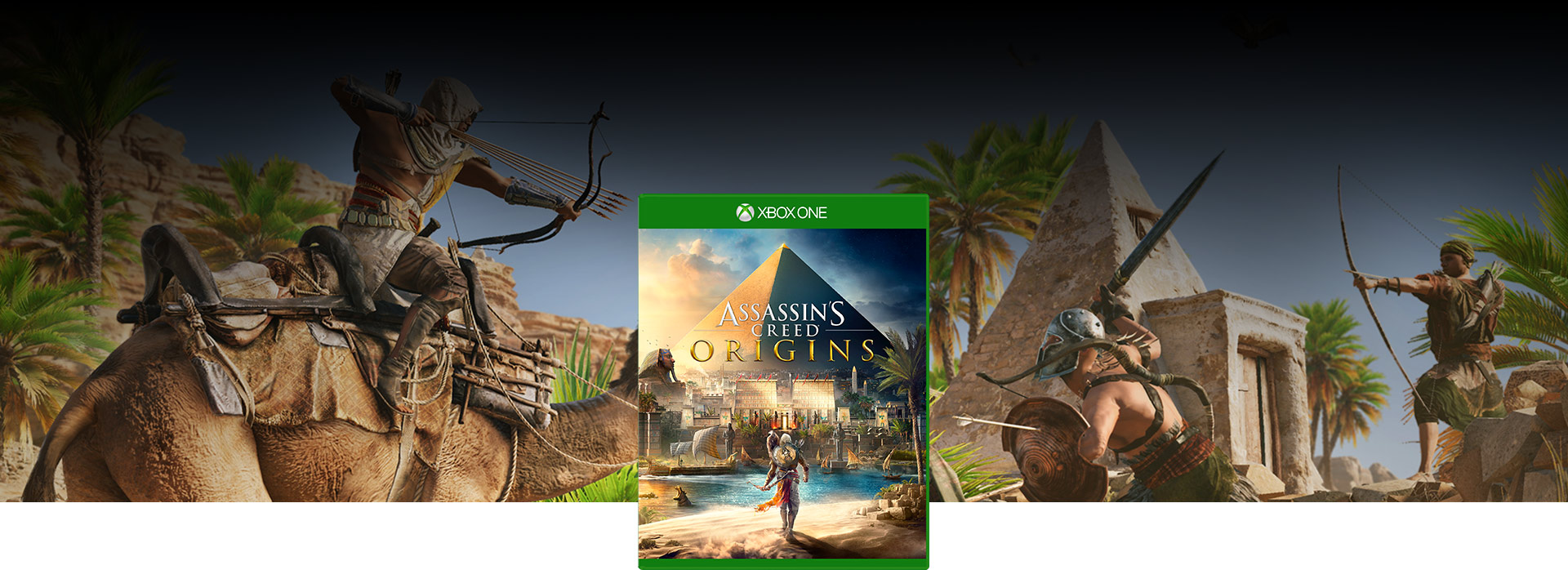 Imagem da caixa do Assassin's Creed® Origins