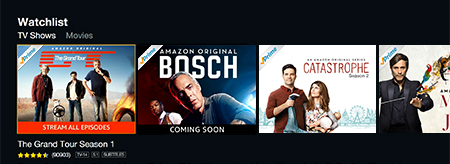 Amazon Instant Video Watchlist