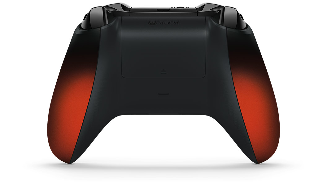 Back view of Volcano Shadow Controller