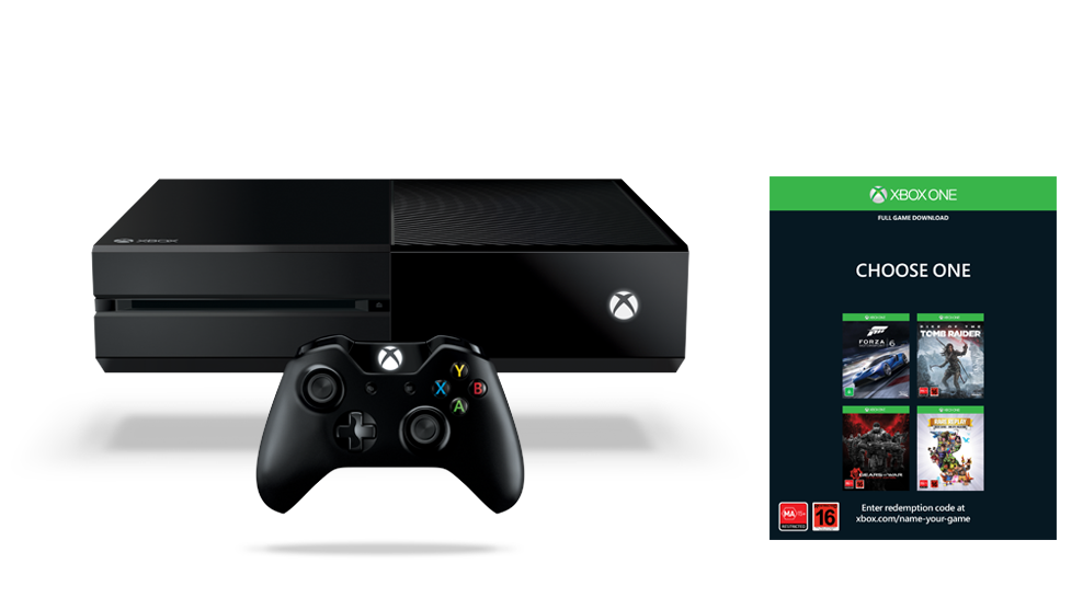 Xbox One Name Your Game Bundle