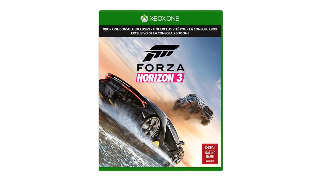 Imagem da caixa Forza Horizon 3
