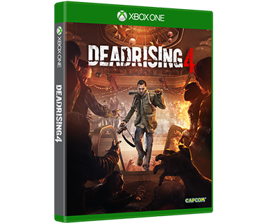 DEAD RISING 4 STANDARD EDITION -KANSITAIDETTA