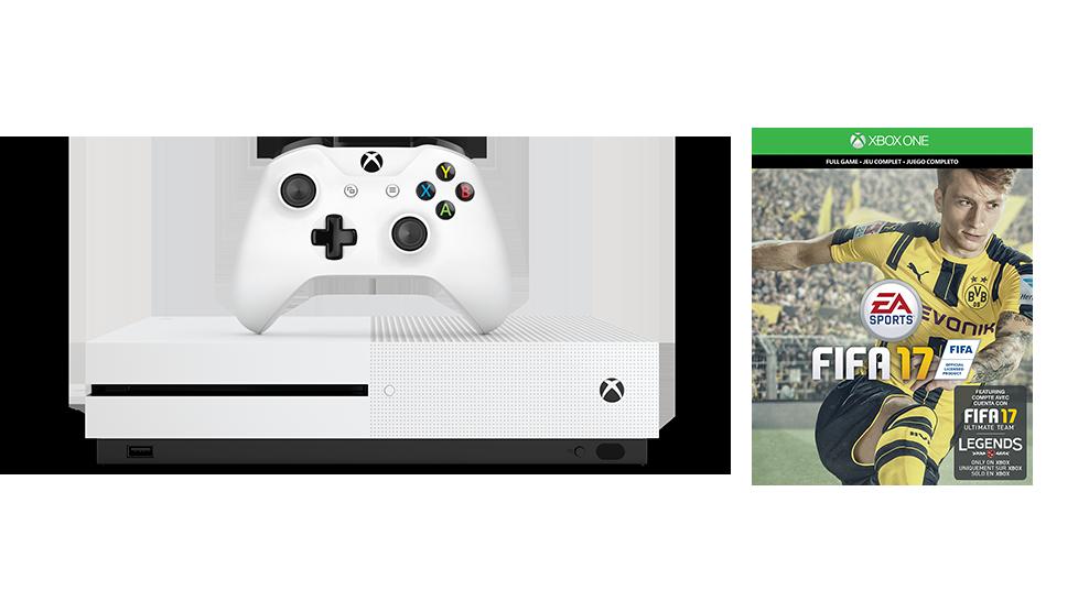 Zestaw Xbox One S FIFA 17 (500GB)