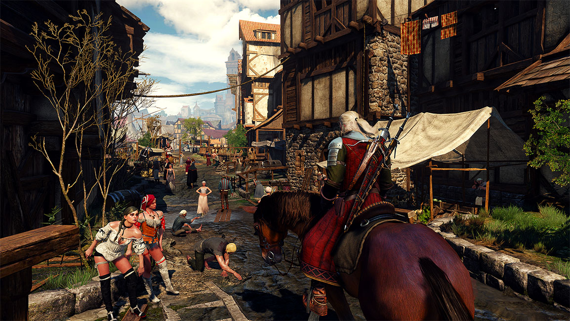 The Witcher 3: Wild Hunt, vie urbaine