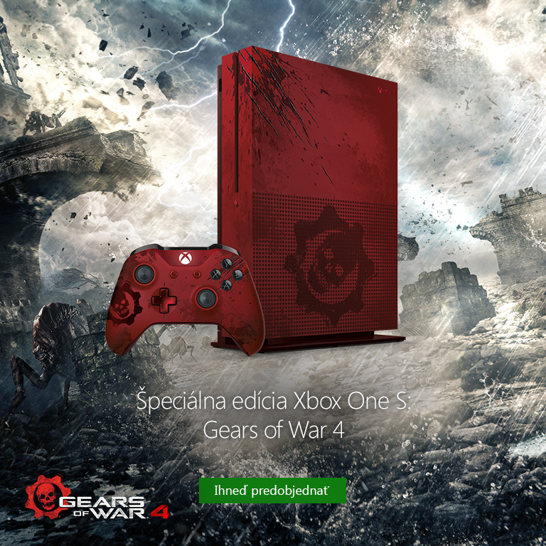 xbox one s gears of war 4 bundle limited edition