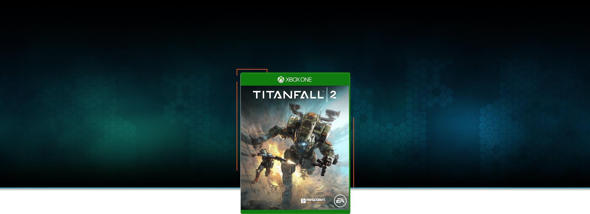 Titanfall 2 -pakkauksen kansi