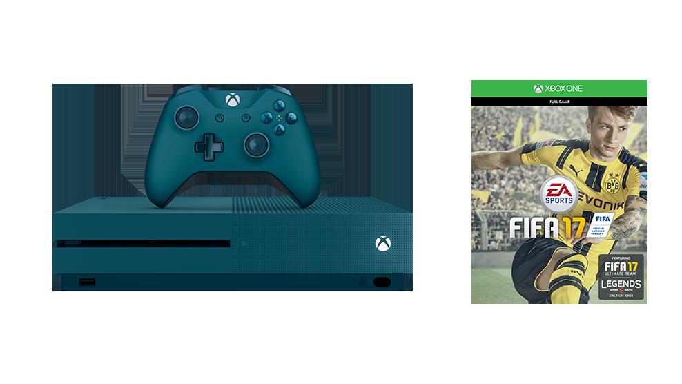 Xbox One S FIFA 17 SE blue bundle