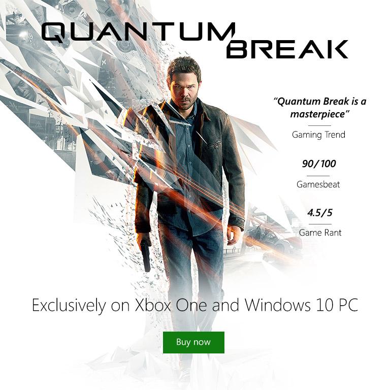 Quantum Break on Xbox One