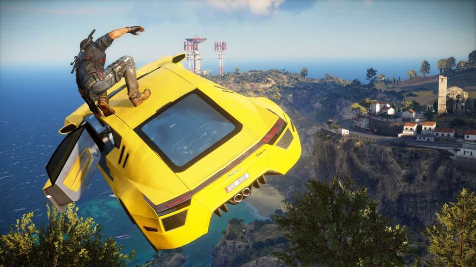 Just Cause 3 cars