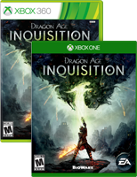 Dragon Age Inquisition Xbox One and Xbox 360 box shot